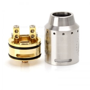 authentic-ijoy-limitless-24-rda-rebuildable-dripping-atomizer-silver-stainless-steel-brass-24mm-diameter